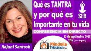 ENTREVISTA DE MINDALIA TELEVISIÓN EL 13 SEPTIEMBRE 2018