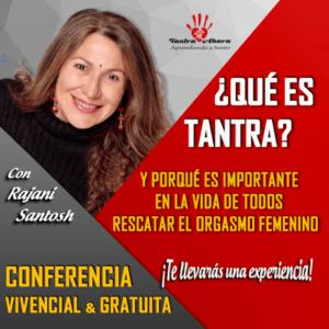 CONFERENCIA VIVENCIAL GRATUITA 18 JULIO MADRID